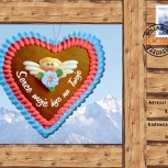 37.regionalna karta pocztowa na Walentynki