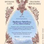 13.afisz, spotkanie opłatkowe mieszkańców Ulicy Kościeliskiej, Zakopane