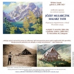 16.afisz do wystawy Józef Mularczyk - Malarz Tatr